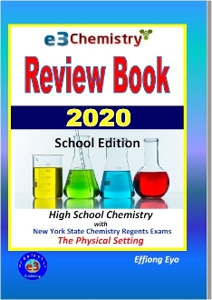 E3 Chemistry Review Book - School Edition 2020